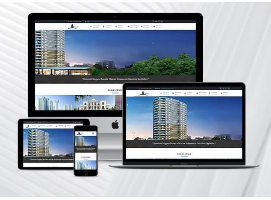 Hazır İnşaat Sitesi Premium
