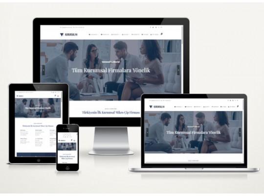 Hazır Web Site Nova