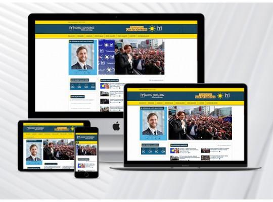 Hazır İYİ PARTİ Sitesi