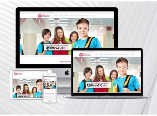 Hazır Okul Sitesi Educat