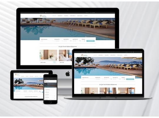 Hazır Otel Sitesi Star